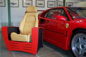 The Ferrari GTB Chair is the Fastest Piece of Furniture on the Market