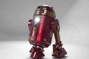 The Iron Man R2D2 Merges Two Hollywood Heavyweights