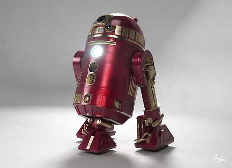 Iron Man R2 D2