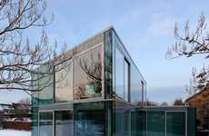 Clear Nordic Cribs - Wiel Arets Architects' H House is Clearly Amazing