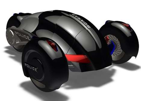 Driverless Cop Cars - Scarab is Designed for Pursuing Bad Boys