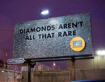 Gold and Diamond Billboards