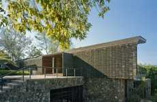 Clay-Clad Forest Homes - The Parque Humano 'Casa en el Bosque' is a Stunning Place to Live