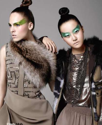 Urban Battle Fashion - 'East Side Story' for Marie Claire July 2010 Doubles Up on Warrior Style