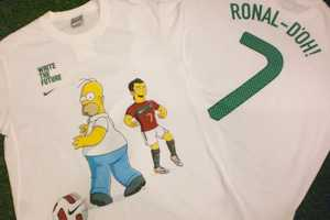 The Nike 'Write the Future' Campaign Continues with Ronal-doh Tees