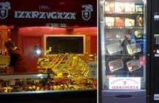 Butcher Vending Machines - Spain's Izarzugaza Butcher Shop Installs Sausage Vending Machines