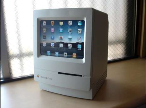 Macintosh iPad Stand