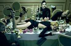 Poisoned Editorials - The Vogue Italia Miles Aldridge 'Closeup' Shoot
