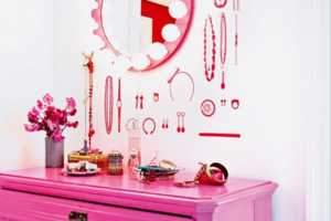 This Pretty in Pink House is Perfectly Girly