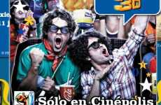 Cinepolis Mexico Will Play the World Cup 2010 in 3D