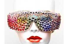 From Rainbow-Studded Sunglasses to Rainbow Eyelashes
