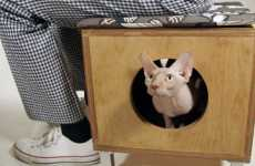 Disguised Pet Housing - Dual Purpose Furniture for you and Your Pet From Modernist Cat