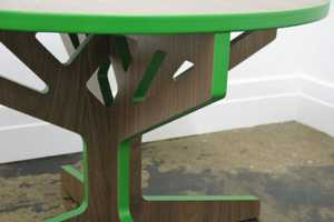 The 'Tree Table Collection' by April Hannah is for the Little Ones