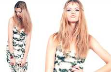 Retro Hippie Fashions - The LF 'Evolving Summer' Lookbook is Hot for Summer