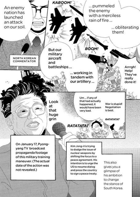 Manga Newspapers - Manga No Shimbun is a Cartoon-y Way to Read Real News