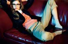 Geeky Girl Fashions - The Taryn Davidson Elle UK 'A Single Woman' Editorial by Matthias Vrien