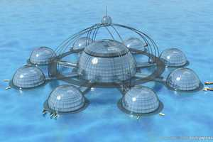 The Sub-Biosphere 2 Is a Self-Sustainable Underwater Habitat