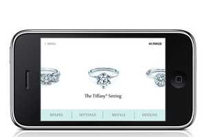 The Tiffany iPhone App Aims to Aid Difficult Ring Shopping