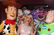 Princess Babydoll Frocks - Britney Spears' 'Toy Story 3' Ensemble is Cutesy