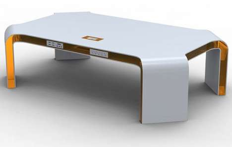 Integrated Technology Coffee Table
