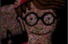 Digitalized Classic Puzzles - This Juan Osborne Where's Waldo is Virtually Impossible to Solve