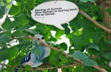 Real-Life Bird Tweets