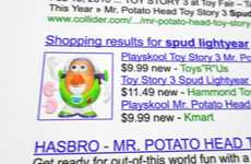 Comedic Cartoon Searches - 'The Discovery Toy Story 3' Google Ad is Selling Curiosity