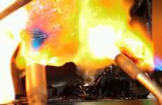 Torching iPads - Project Green Apple Protests Apple's Recycling Policies by Torching an iPad