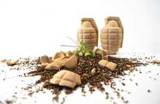 Grenade Planters - These Seed Bombs are Grenade Exploding Gardening Tools