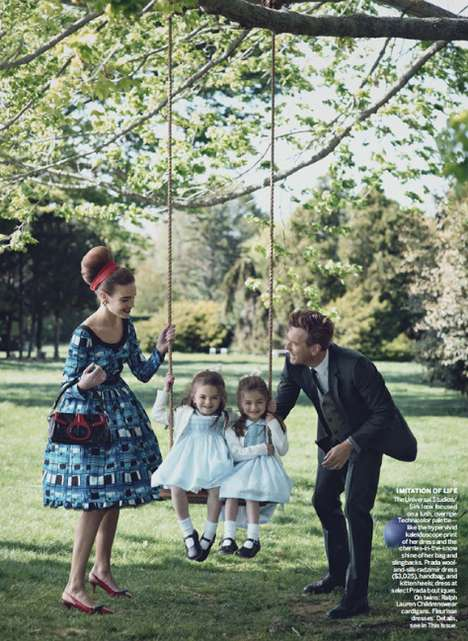 Retro Family Fashion - Actor Ewan McGregor for 'Magnificent Obsession' in Vogue