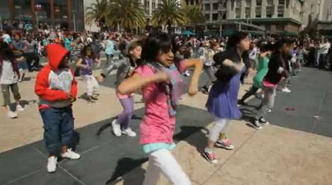 Kids Fashion Flashmob