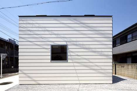 Modern Single Family Shacks - The House in Saitama by Satoru Hirota Architects