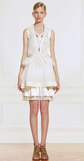 riccardo tisci givenchy resort 2011