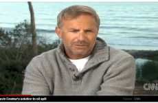 Celeb Oil Spill Solutions - The Kevin Costner BP Oil Spill Clean Up Plan is Logical