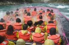 Whitewater Jet Boating: Trend Hunter Fun Day - Whirlpool Jet Boats at Niagara Falls