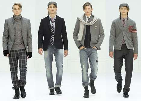 Boarding School Couture - Class is in Session with the Brothers 2010 Autumn Collection