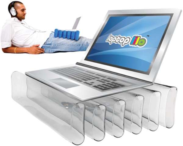 Inflatable Laptop Stands