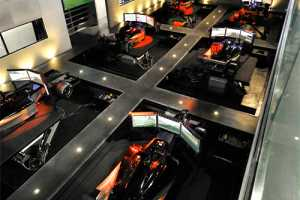 The I-WAY Virtual Racing Facility is a Gamer's Eden