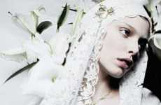 Angelic White Veils
