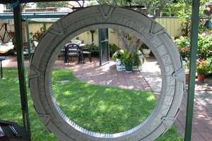 Dedicated Father and Son Duo Makes a Stargate Replica