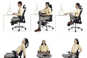 The Gayolab Office Chair for Yoga Will Set You Straight