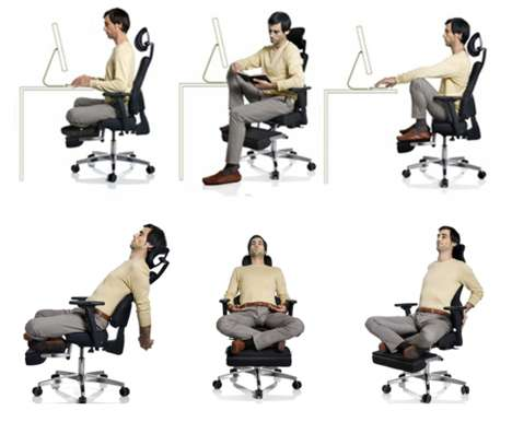 Yoga Seating - The Gayolab Office Chair for Yoga Will Set You Straight