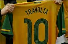 Singing Celeb Endorsements - Australia is the Team John Travolta Wants for World Cup Victory