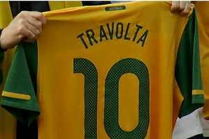 Australia is the Team John Travolta Wants for World Cup Victory