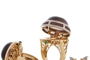 The Saggi Jewelry Line of Trinket Box Baubles Pop Open to Reveal More Bling