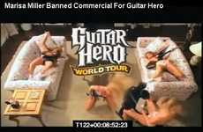 Marisa Miller Guitar Hero Ad Deemed Too Racy for TV