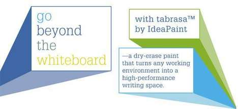Whiteboard Walls - Scribble Away Guilt-Free with MDC Wallcovering's Tabrasa Paint