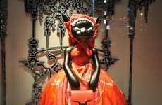 The Hermes Ginza Flagship Store Reinvents Little Red Riding Hood