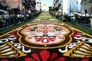 The Genzano Infiorata Flower Festival Will Have Streets Smelling Sweet