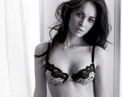 megan fox emporio armani underwear fall winter 2011